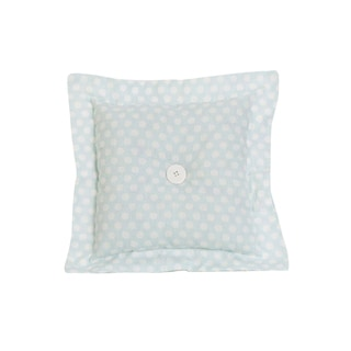 Lizzie Blue Decor Throw Pillow