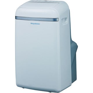 Keystone KSTAP14B 14,000 BTU 115-volt Portable Air Conditioner with 'Follow Me' LCD Remote Control