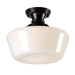 Hallow 1 Light Semi Flush Mount