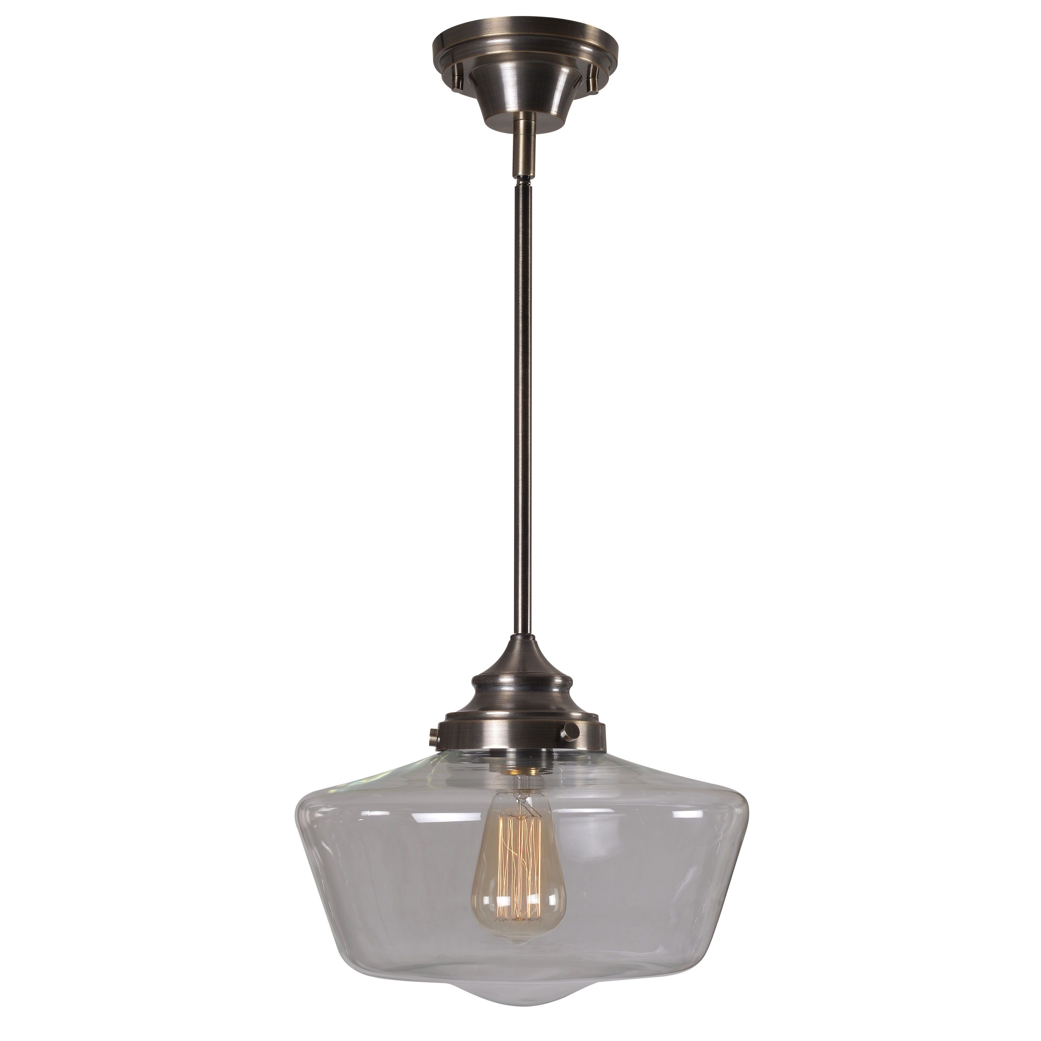 Design Craft Hallow 1-light Pendant (Hallow 1 light penda...