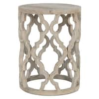 Gray Manor Paige Wood End Table