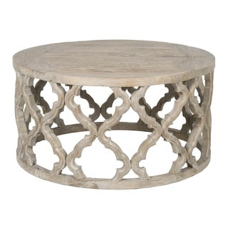 Paige Elm Wood Coffee Table