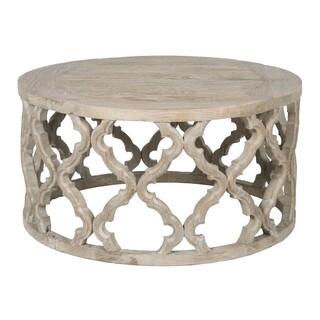 Paige Elm Wood Coffee Table