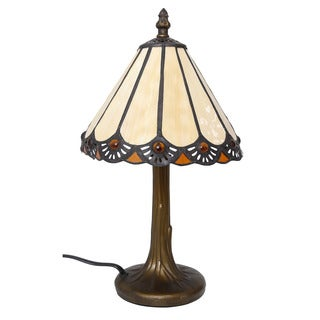 Somette Tiffany 13.5-inch Accent Lamp