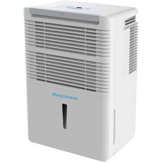 Keystone KSTAD50B Energy Star White 50-pint Dehumidifier