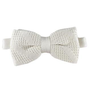 Elie Balleh Milano Italy 2016 Microfiber Knit Bow Tie