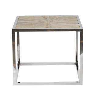Mitchell Stainless Steel End Table