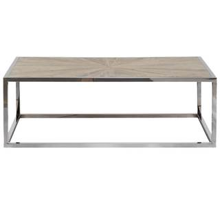 Gray Manor Mitchell Wood-top Coffee Table