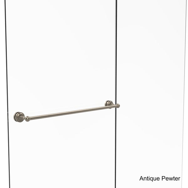 30 Inch Shower Door Part - 25: ... Allied Brass Dottingham Collection 30-inch Shower Door Towel Bar ...