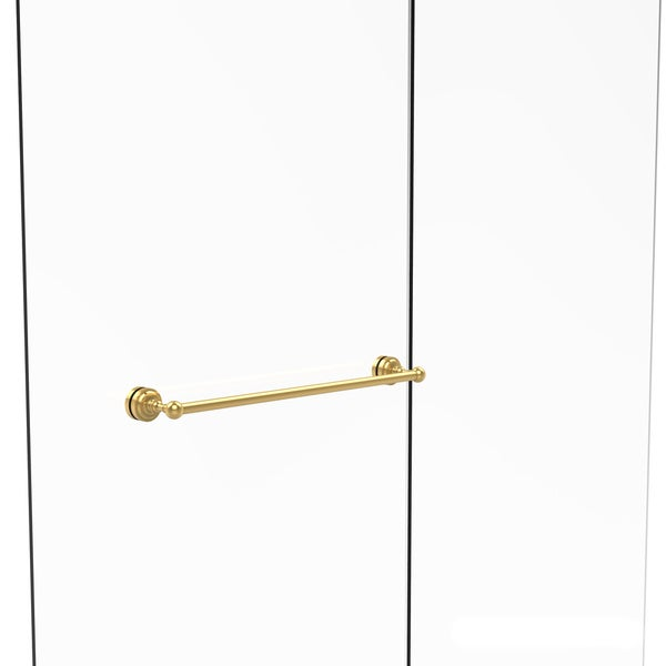 shop allied brass dottingham collection 24 inch shower door towel bars free shipping today. Black Bedroom Furniture Sets. Home Design Ideas