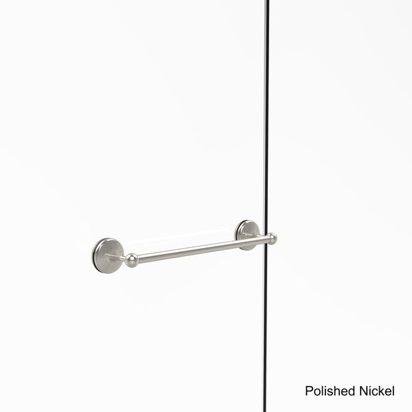 Polished Nickel Allied Brass MC-41-BB-18-PNI Monte Carlo Collection 18 Inch Back Shower Door Towel Bar