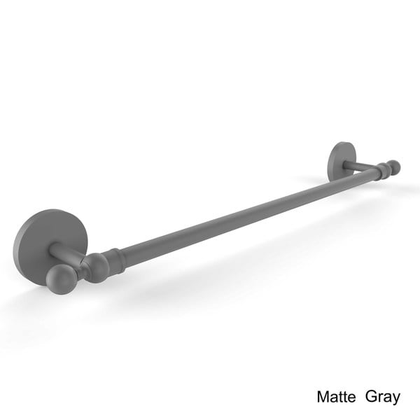 Allied Brass 1041//18-PNI Skyline Collection 18 Inch Towel Bar Polished Nickel