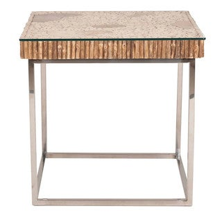 Gray Manor Lonnie Metal End Table