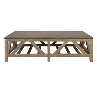 Gray Manor Albert Stone Coffee Table