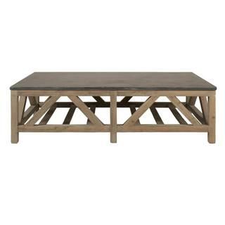 Gray Manor Albert Stone Coffee Table