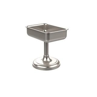 Allied Brass Silvertone Brass Vanity-top Soap Dish