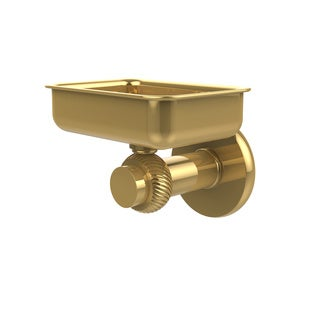 Allied Brass Mercury Collection Wall-mounted Soap Dish with Twisted Accents