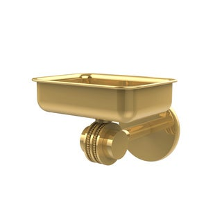 Allied Brass Gold Brass Satellite Orbit Wall-mounted Soap Dish with Dotted Accents