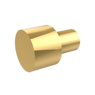 Allied Gold Brass Decorative Cabinet Knob