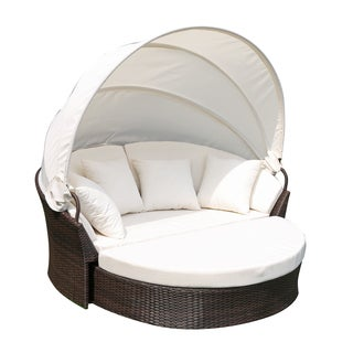Cerbere Flat Rattan Day Bed