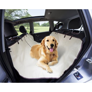 Tan Waterproof Hammock Pet Seat Cover