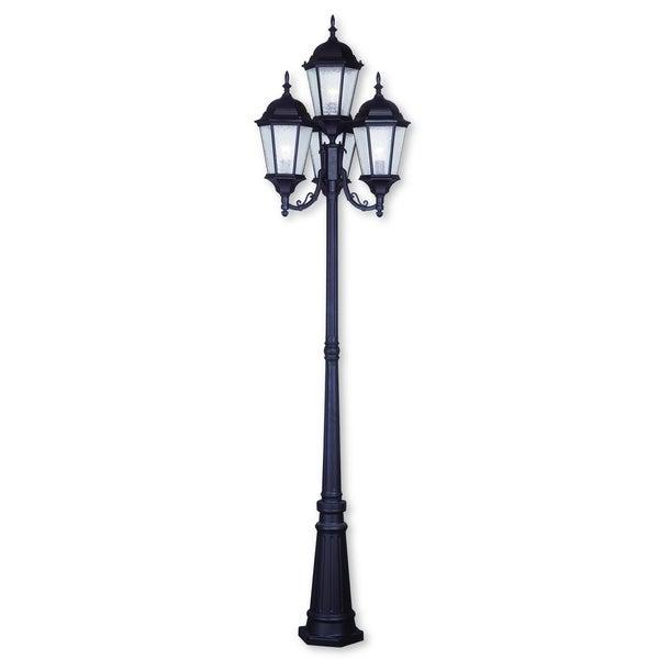 Shop Livex Lighting Hamilton Bronze 4 Light Outdoor 4