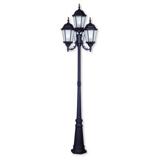 Livex Lighting Hamilton Bronze 4-light Outdoor 4-headed Post Lamp