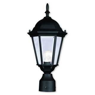 Livex Lighting Hamilton Black Outdoor Post Lantern