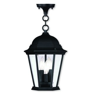 Livex Lighting Hamilton Black 3-light Chain Lantern