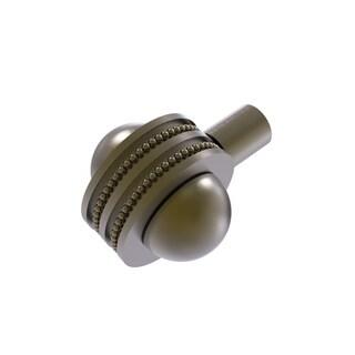 Allied Brass Black Brass 1.5-inch Decorative Cabinet Knob