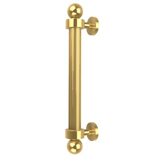 Allied Brass Clear Brass 8-inch Reeded Door Pull