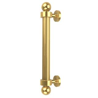 Allied Brass Clear Brass 8-inch Reeded Door Pull|https://ak1.ostkcdn.com/images/products/12004683/P18882233.jpg?impolicy=medium