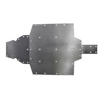 Polaris 570 Black Polyethylene Protection Carriage Skid Plate