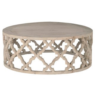 Gray Manor Paige Reclaimed Wood Large Decorative Coffee Table