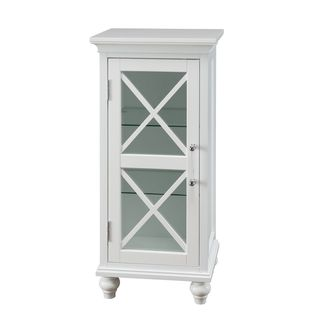 Grayson Floor Cabinet with 1 Door, by Elegant Home Fashions