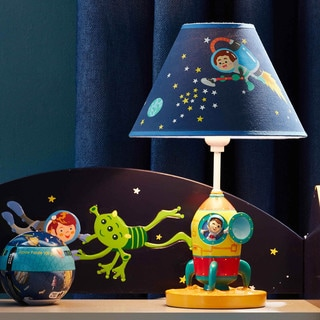 Elegant Fantasy Fields Outer Space Table Lamp