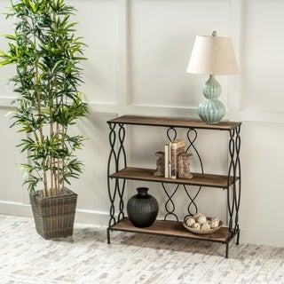 Marseille 3-shelf Rustic Bookcase by Christopher Knight Home