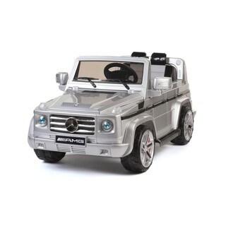Best Ride On Cars Silver 12-volt Mercedes Benz G55