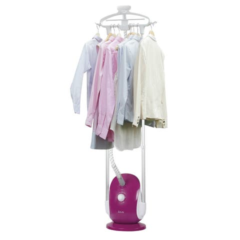 Salav GS68-BJ 1500-watt 4-setting Dual-bar Double-insulated Professional Garment Steamer