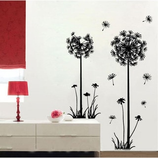 HomeSource 'Dandelions and Dreams' 20-inch x 28-inch Removable Wall Art Decal