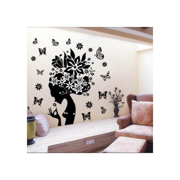 HomeSource Dreaming of Beauty 20-inch x 28-inch Removable Graphic Wall Decals