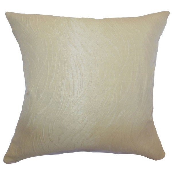 Nichola Solid Throw Pillow Cover