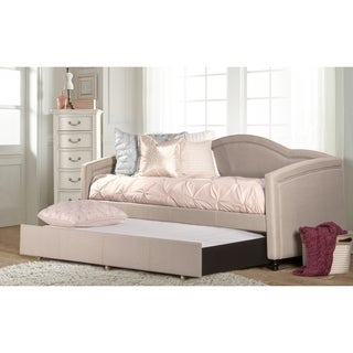 Hillsdale Furniture Jasmine Dove Grey Daybed with Trundle