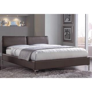 Aurora Platform Bed with Adjustable Headboard Cushions