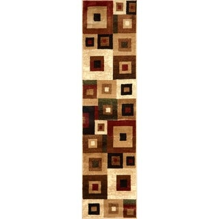 "Home Dynamix Tribeca Collection Contemporary Area Rug Runner (1'9""x7'2"")"