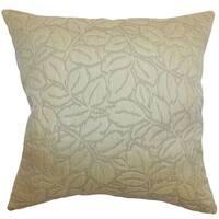 Perdita Floral Throw Pillow Cover