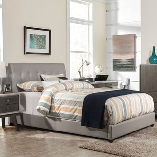 Hillsdale Furniture Lusso Bed with Rails, Grey (Full)