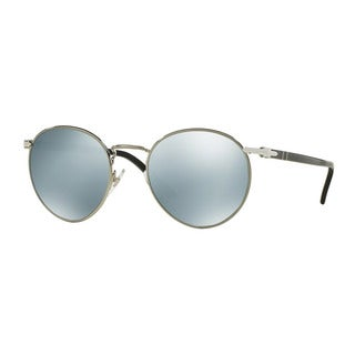 Persol Men's PO2388S 103930 49 Gunmetal Metal Round Sunglasses