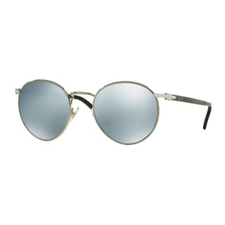 Persol Men's PO2388S 103930 51 Gunmetal Metal Round Sunglasses