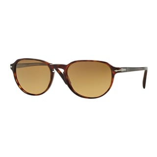 Persol Men's PO3053S 9015M2 52 Havana Plastic Phantos Polarized Sunglasses